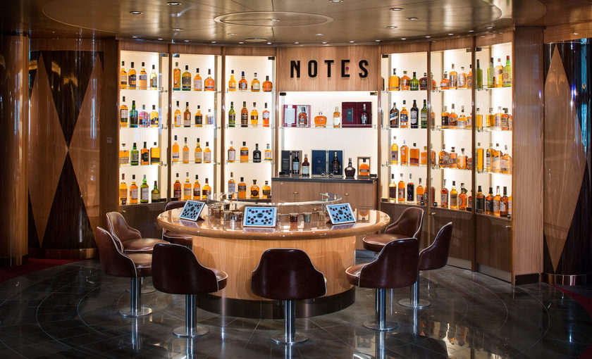 Café Notes van cruiseschip Koningsdam