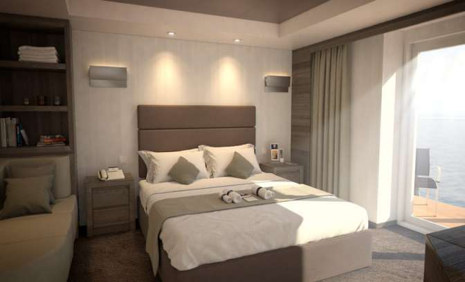 Yacht Club Suite van MSC cruises