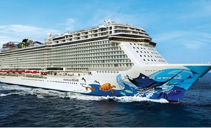 cruiseschip Norwegian Escape van rederij NCL