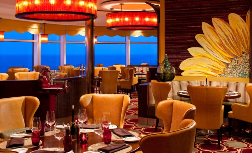 The Tuscan grill op de Celebrity Eclipse