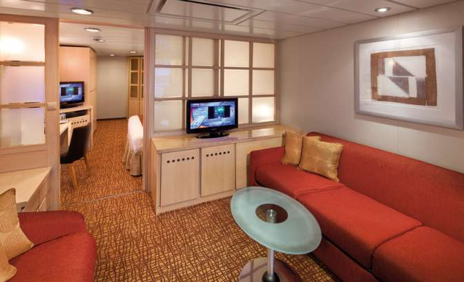 Een suite op de Celebrity Millennium van Celebrity Cruises